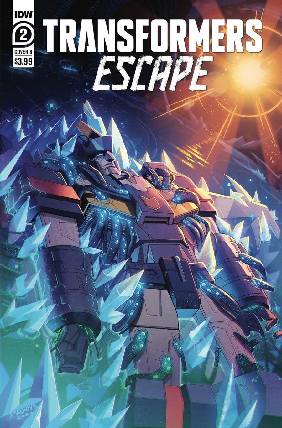 Transformers Escape #2 Cover B Variant Anna Malkova Cover