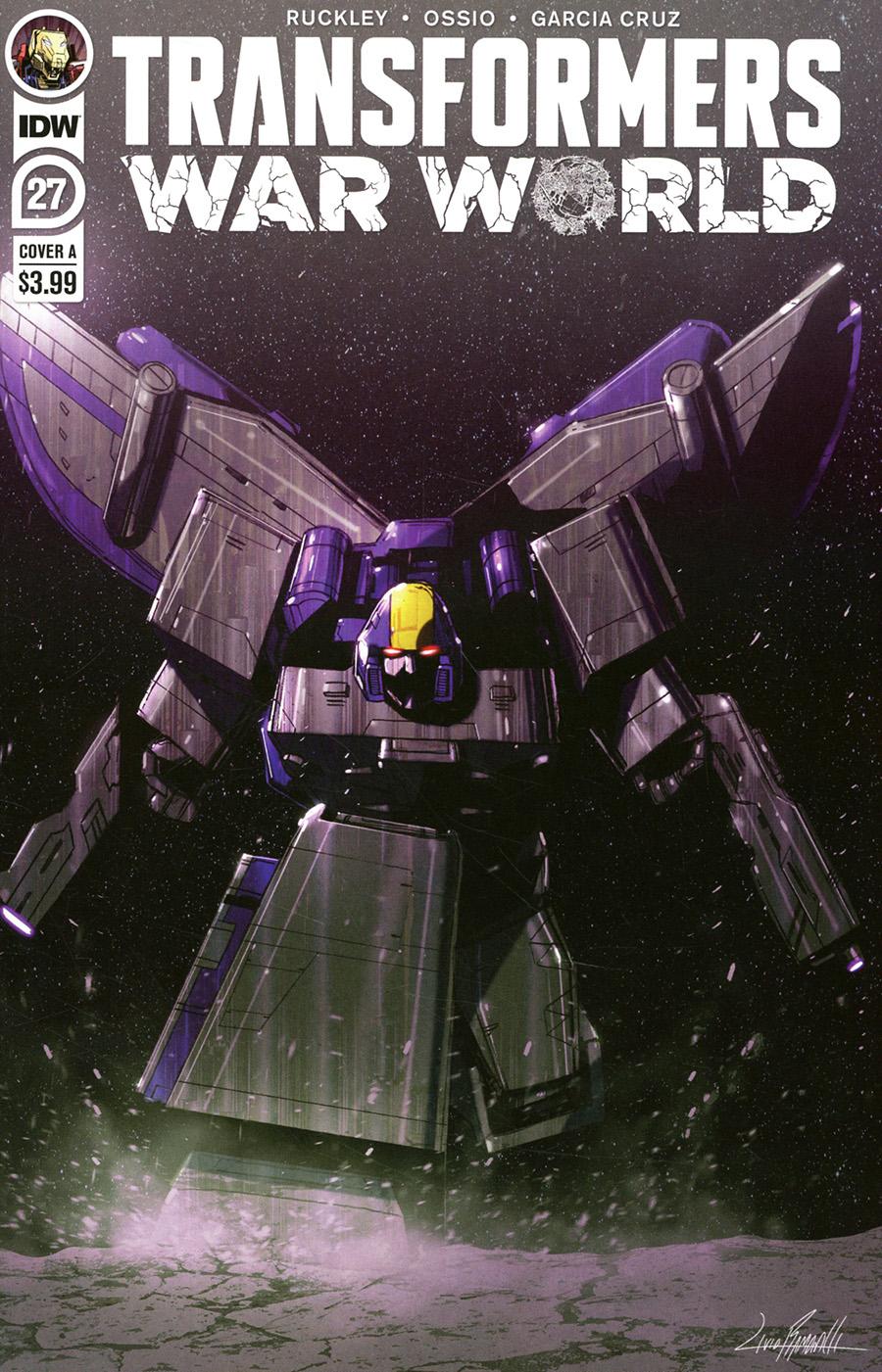 Transformers Vol 4 #27 Cover A Regular Livio Ramondelli Cover