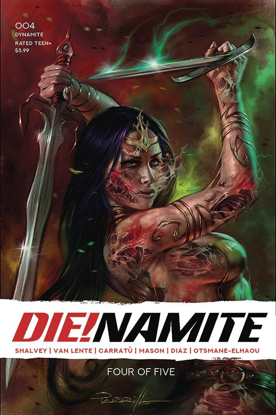 DieNamite #4 Cover A Regular Lucio Parrillo Cover