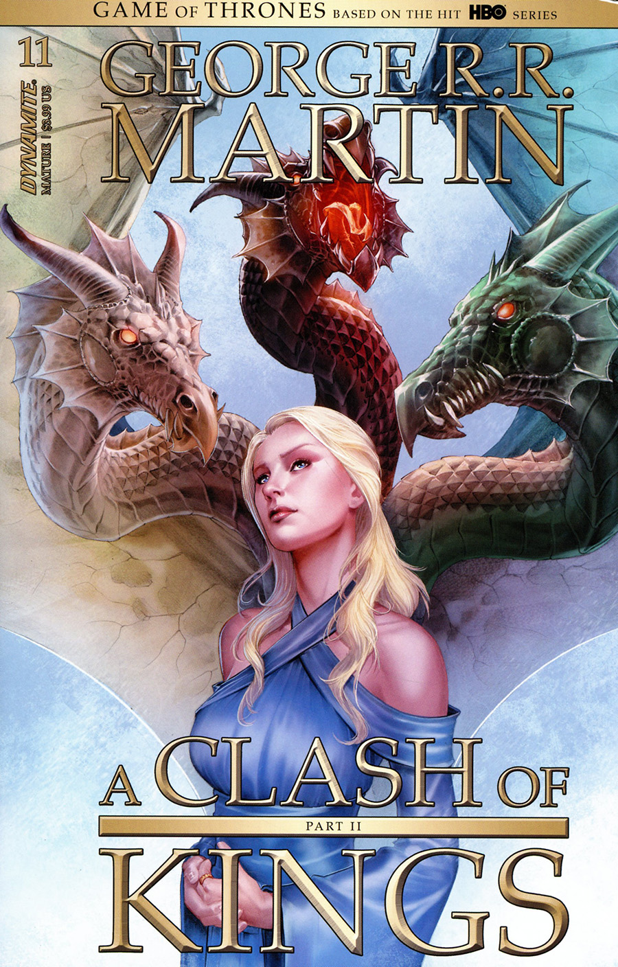 Game Of Thrones Clash Of Kings Vol 2 #11 Cover A Regular Mike Miller Cover