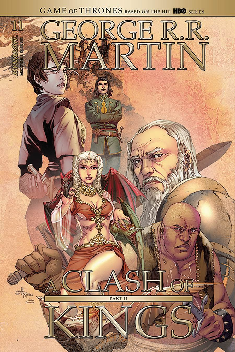 Game Of Thrones Clash Of Kings Vol 2 #11 Cover B Variant Mel Rubi Cover