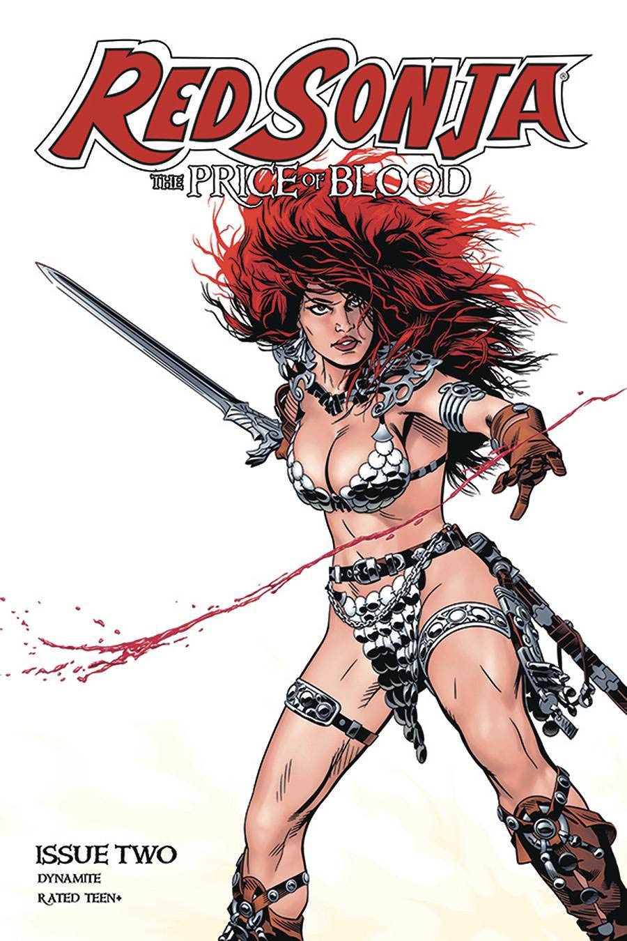 Red Sonja Price Of Blood #2 Cover B Variant Michael Golden Cover