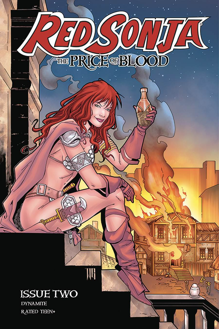 Red Sonja Price Of Blood #2 Cover D Variant Walter Geovani Cover