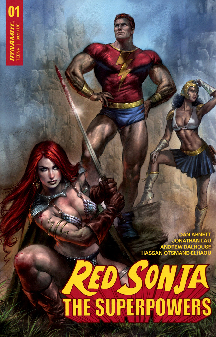 Red Sonja The Superpowers #1 Cover A Regular Lucio Parrillo Cover