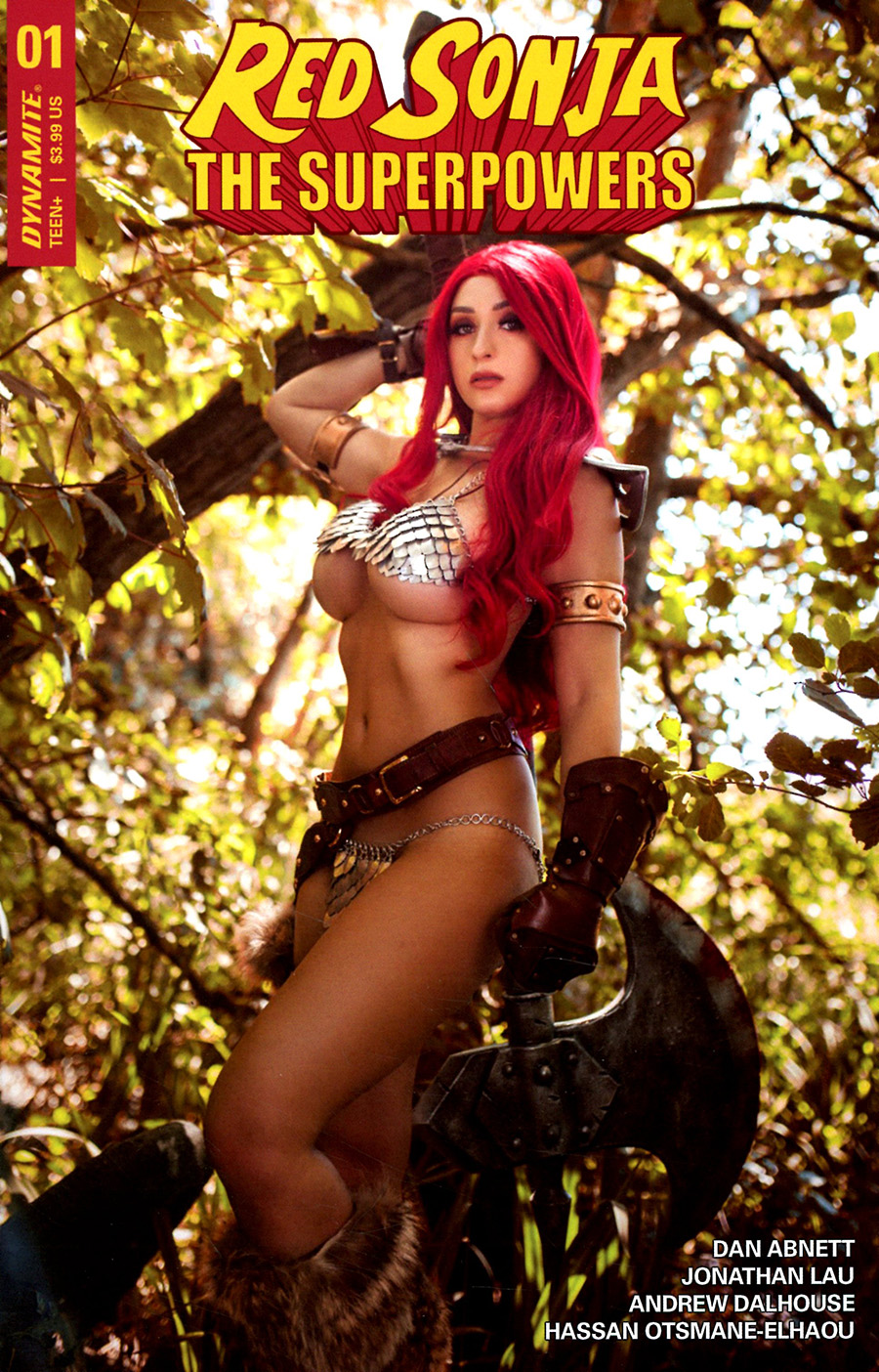 Red Sonja The Superpowers #1 Cover E Variant Tabitha Lyons Cosplay Photo Cover