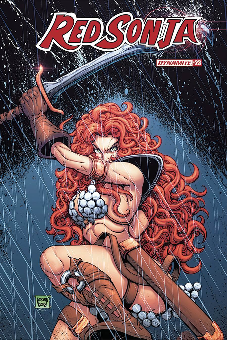 Red Sonja Vol 8 #23 Cover D Variant Will Robson Cover