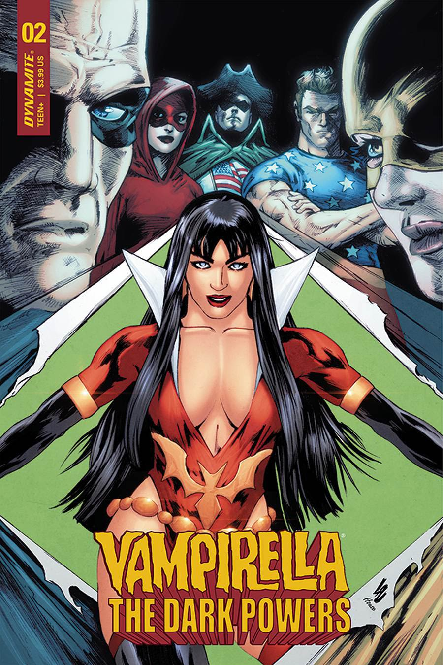 Vampirella The Dark Powers #2 Cover C Variant Jonathan Lau Cover