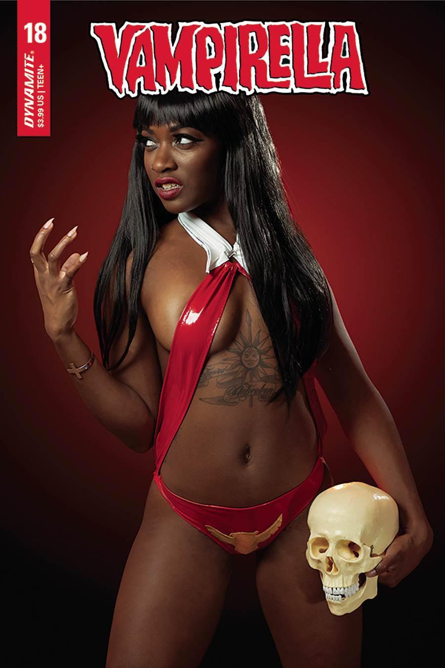 Vampirella Vol 8 #18 Cover E Variant Maki Roll Cosplay Photo Cover