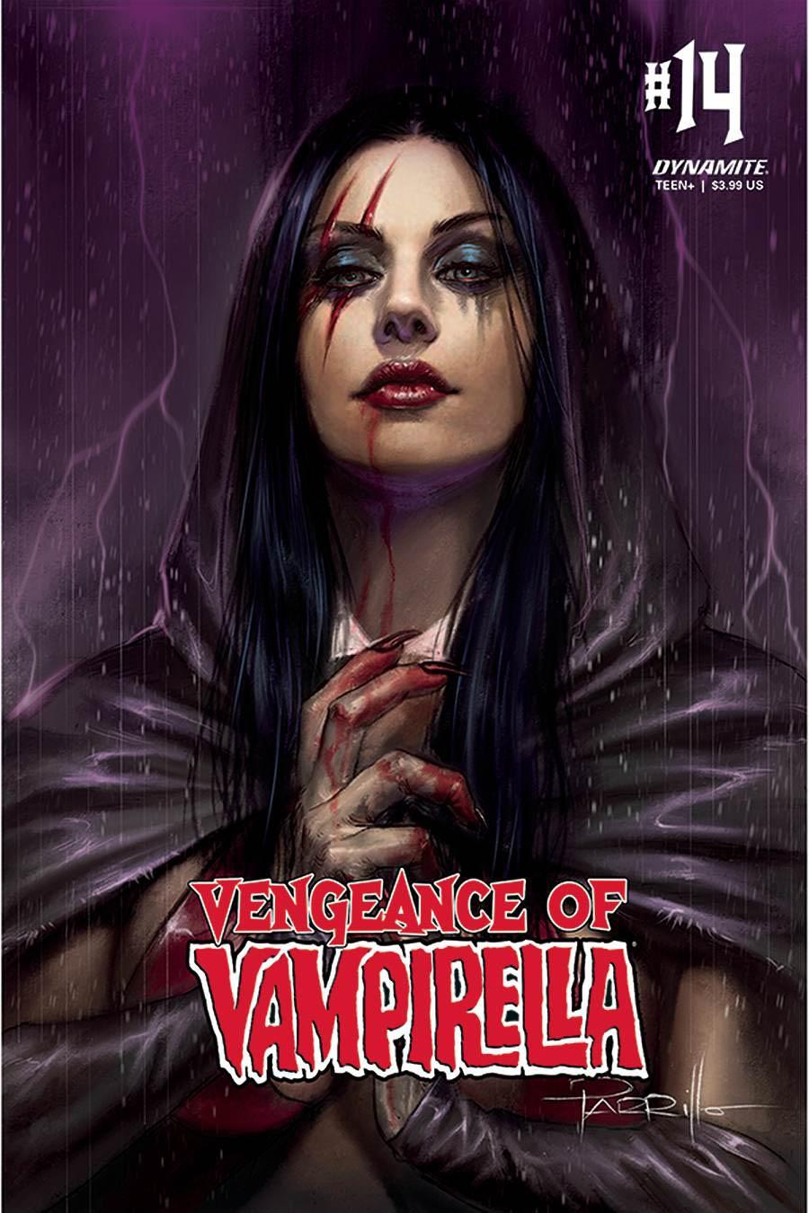Vengeance Of Vampirella Vol 2 #14 Cover A Regular Lucio Parrillo Cover