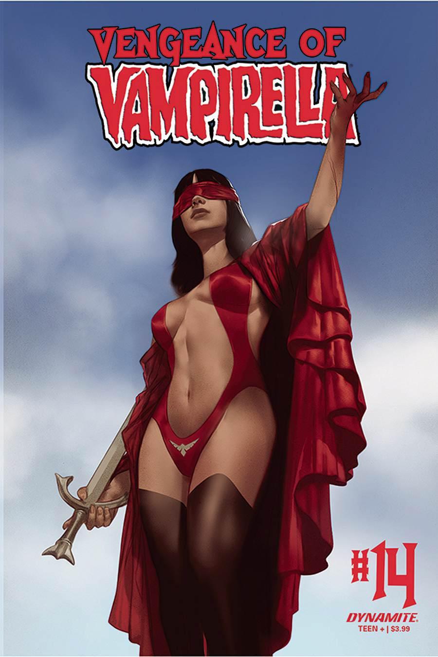 Vengeance Of Vampirella Vol 2 #14 Cover B Variant Ben Oliver Cover