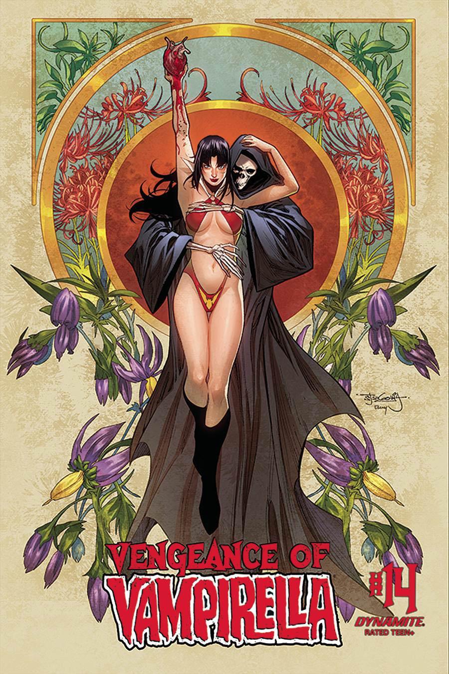 Vengeance Of Vampirella Vol 2 #14 Cover C Variant Stephen Segovia Cover