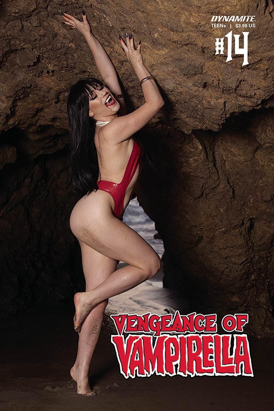 Vengeance Of Vampirella Vol 2 #14 Cover D Variant Rachel Hollon Cosplay Photo Cover