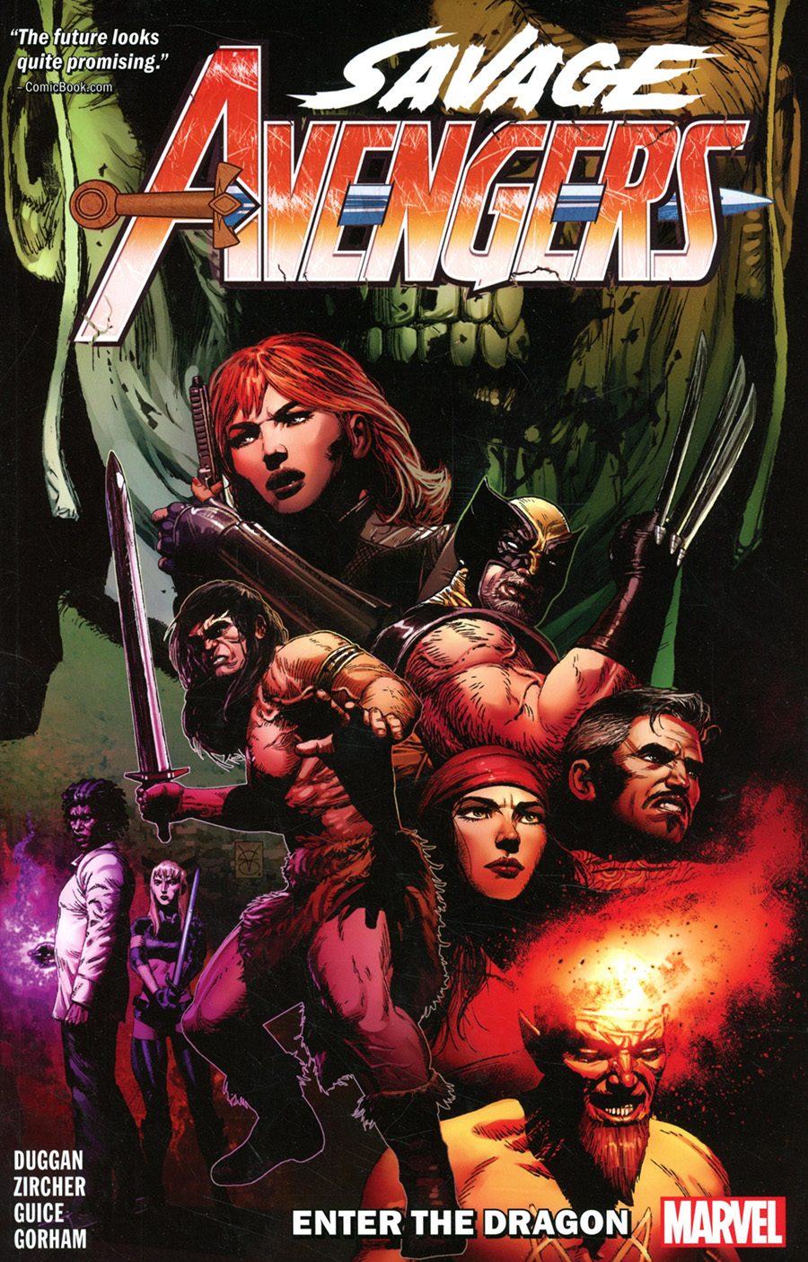 Savage Avengers Vol 3 Enter The Dragon TP