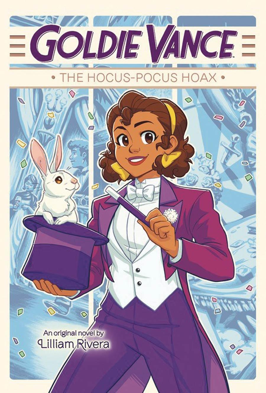 Goldie Vance Hocus-Pocus Hoax HC