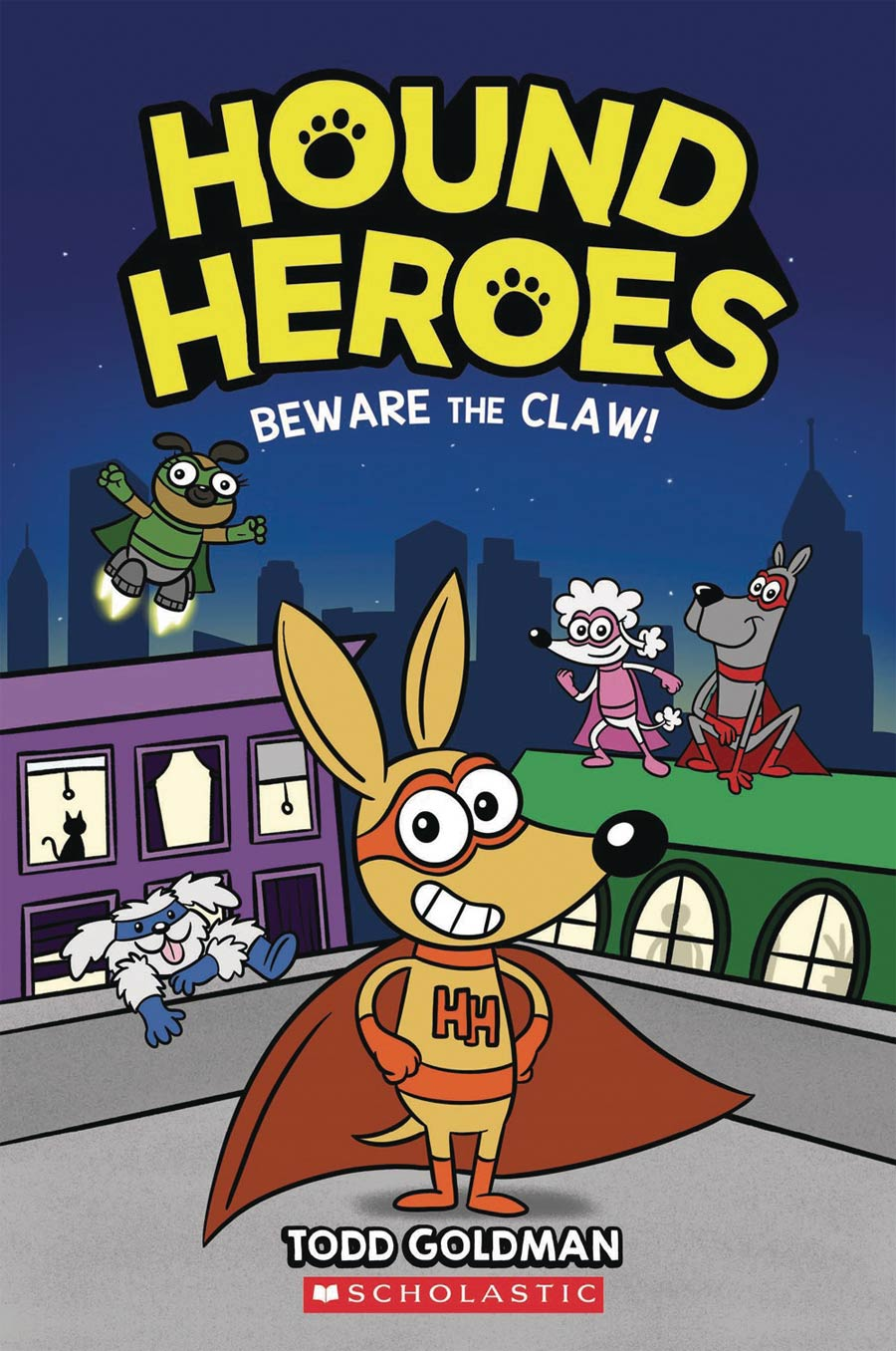 Hound Heroes Vol 1 Beware The Claw TP