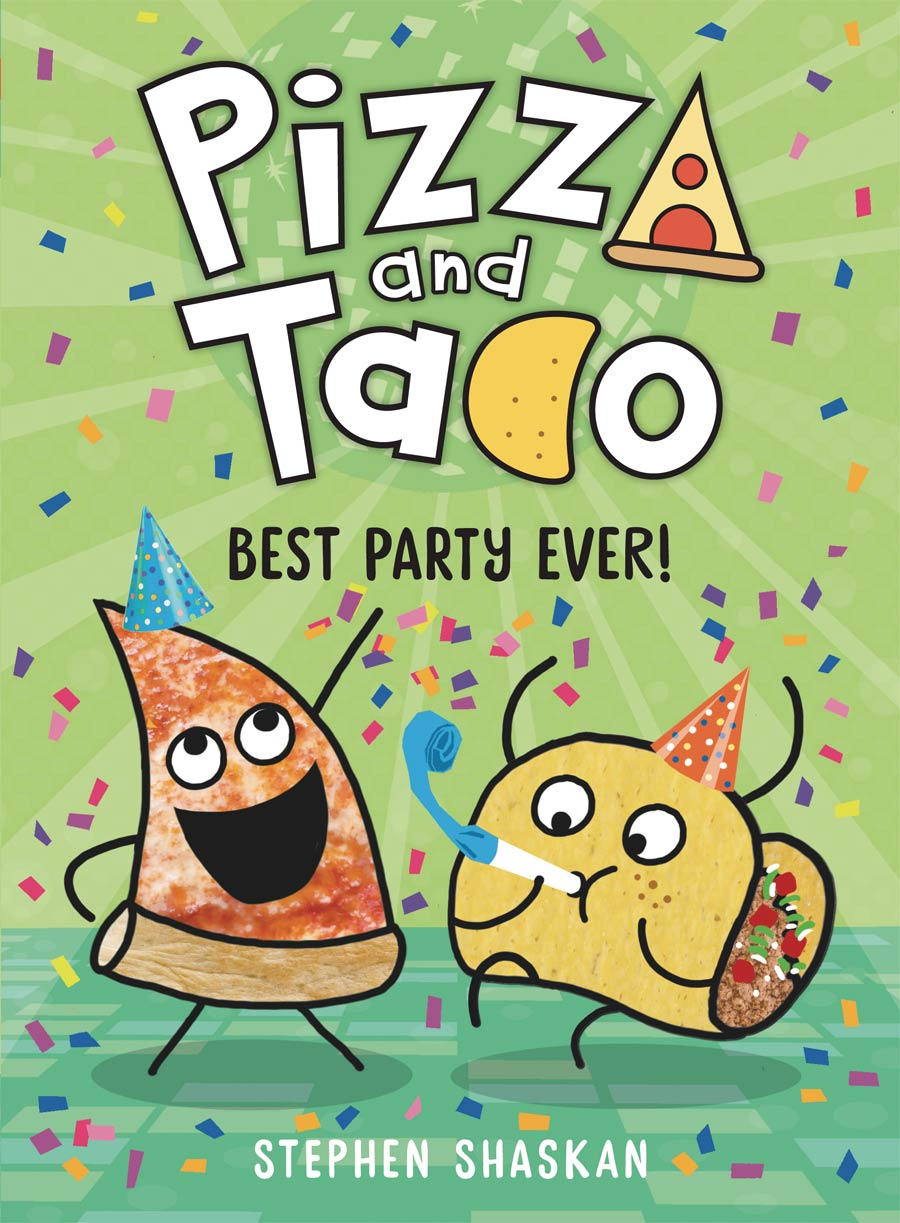 Pizza And Taco Vol 2 Best Party Ever HC