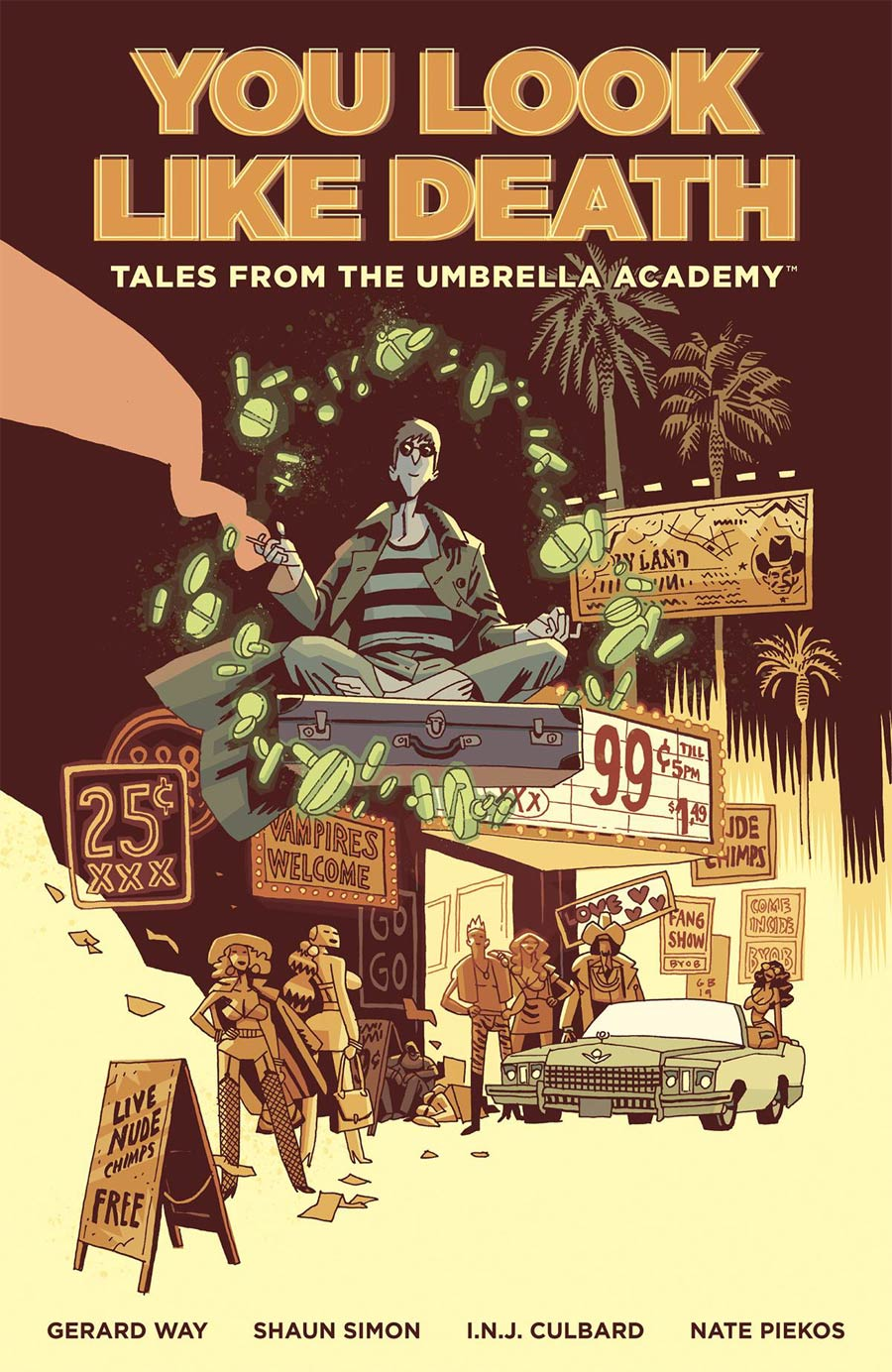 You Look Like Death Tales From The Umbrella Academy Vol 1 TP