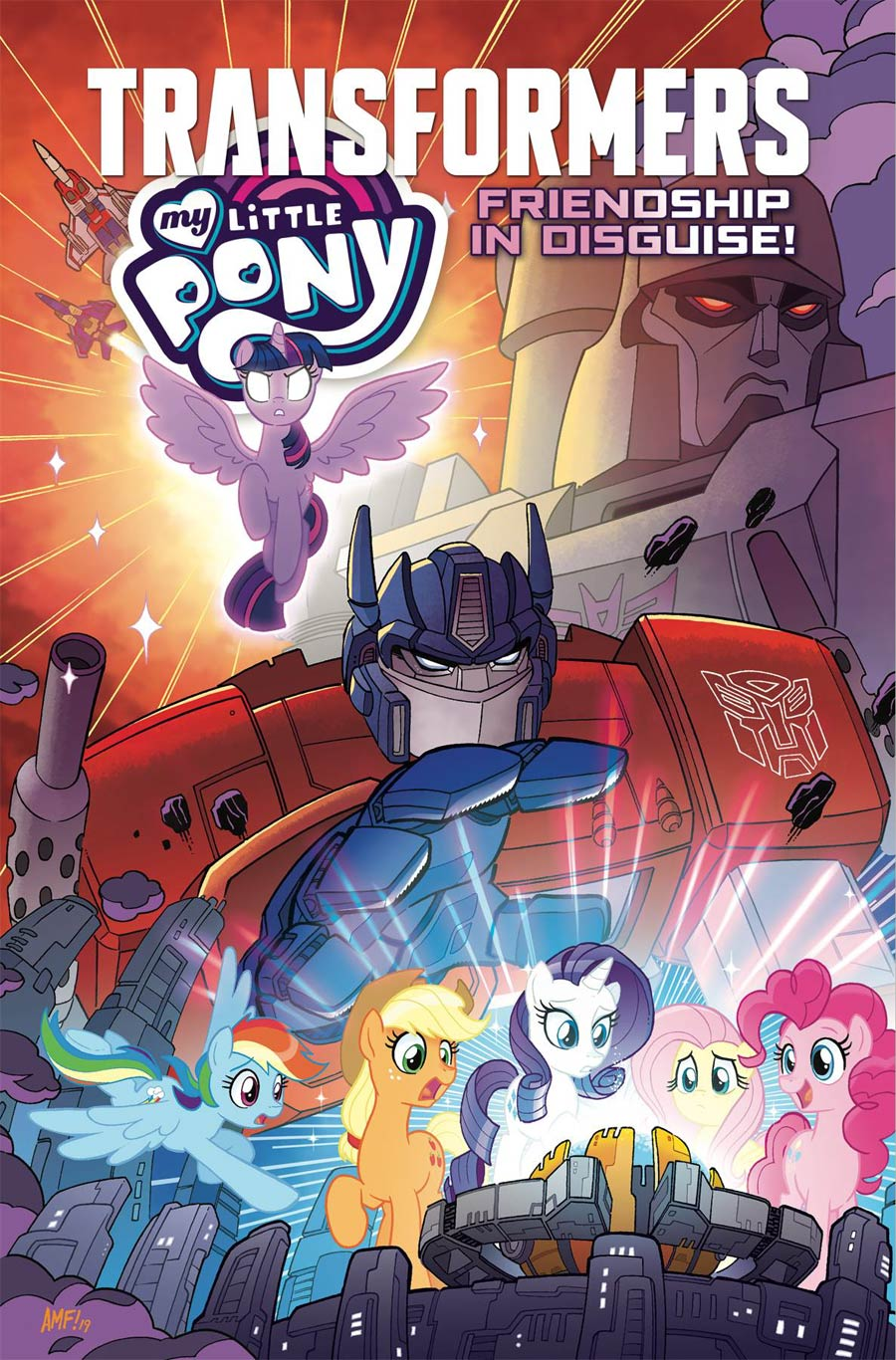 My Little Pony Transformers Friendship In Disguise TP