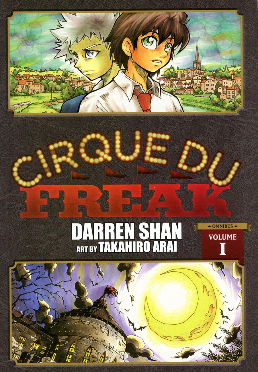 Cirque Du Freak Manga Omnibus Edition Vol 1 GN