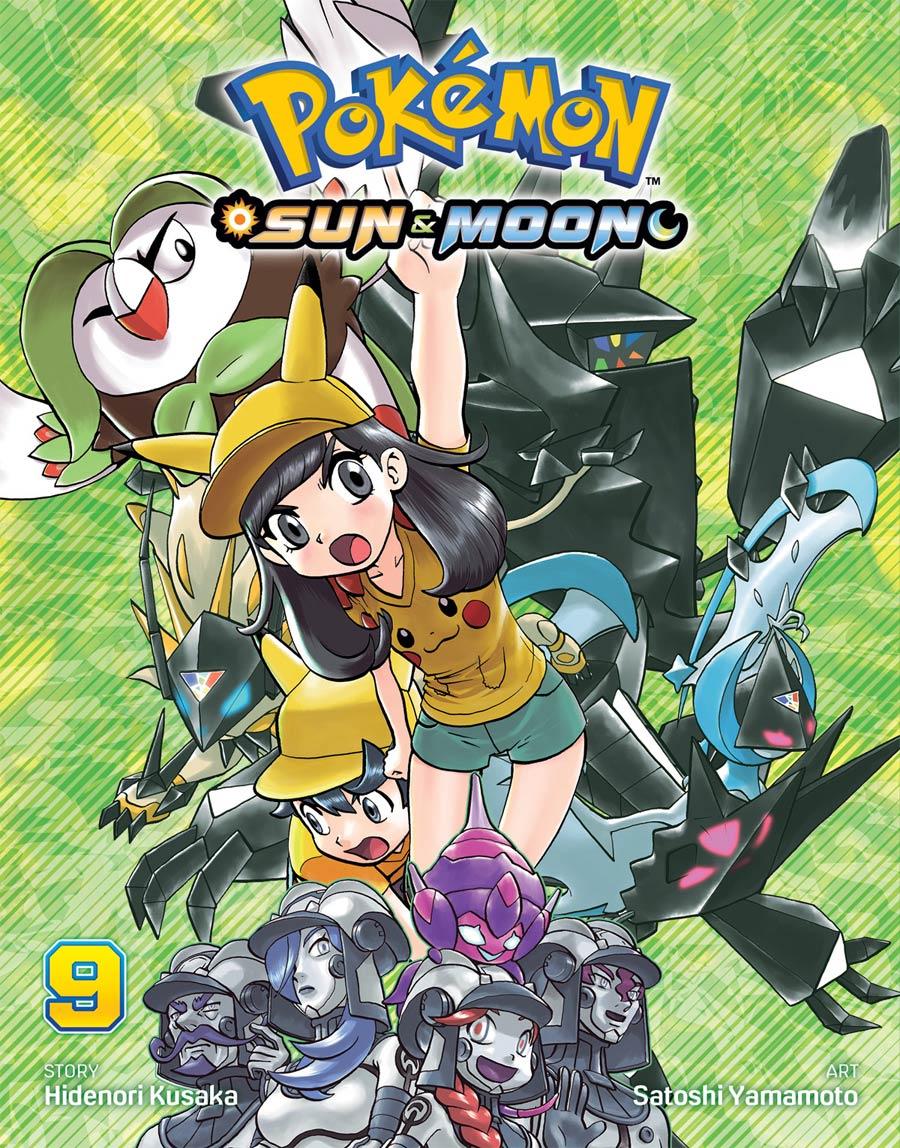 Pokemon Sun & Moon Vol 9 GN