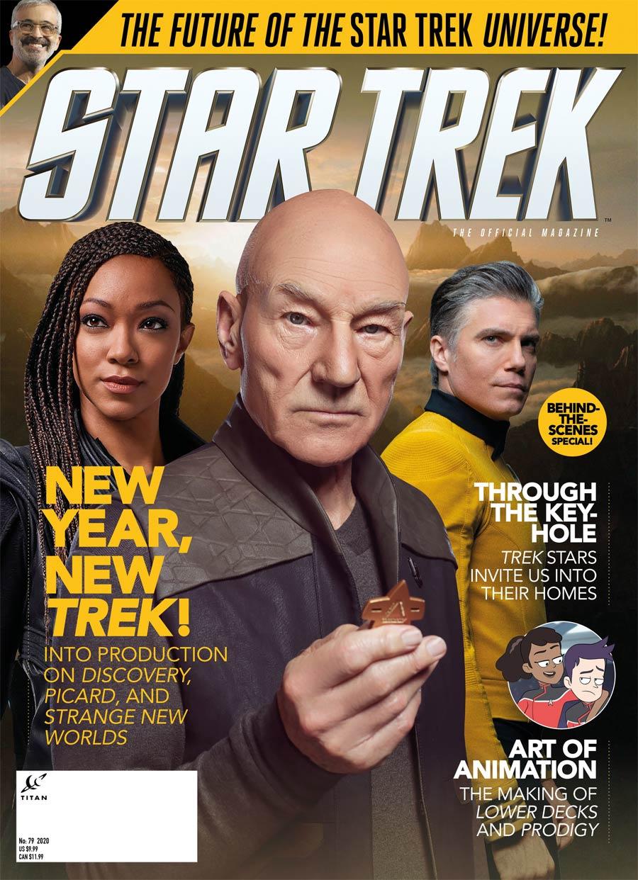 Star Trek Magazine #79 Spring 2021 Newsstand Edition