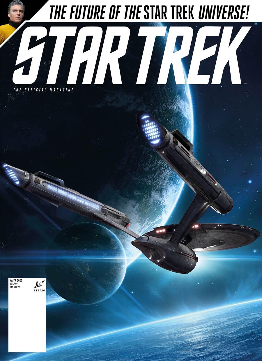 Star Trek Magazine #79 Spring 2021 Previews Exclusive Edition