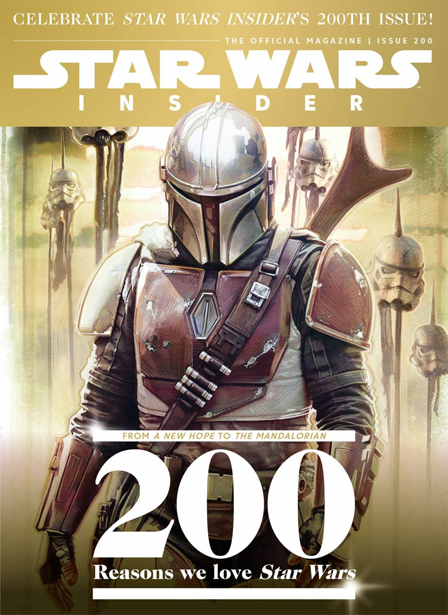 Star Wars Insider #200 March 2021 Newsstand Edition