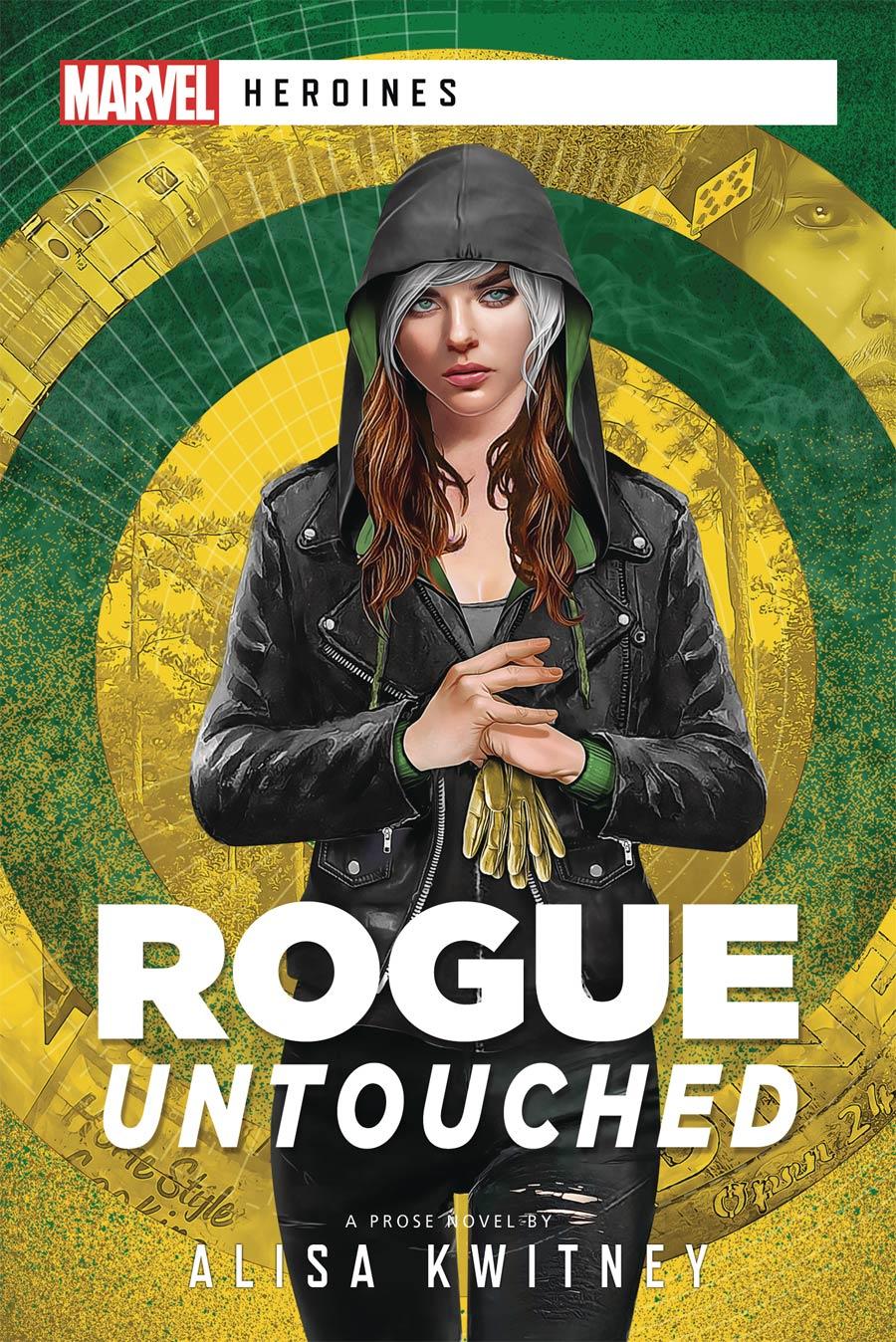 Marvel Heroines Novel Rogue Untouched SC