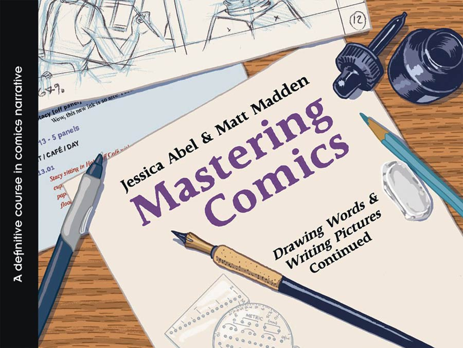 Mastering Comics Drawing Words & Writing Pictures Continued TP New Printing