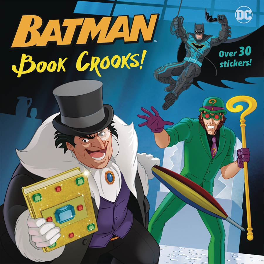 DC Super Heroes Batman Book Crooks Pictureback TP