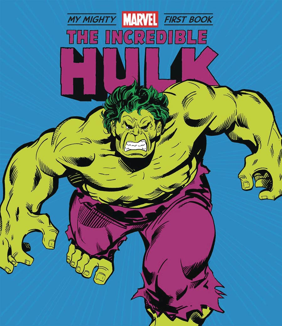 My Mighty Marvel First Book Incredible Hulk Board Book HC