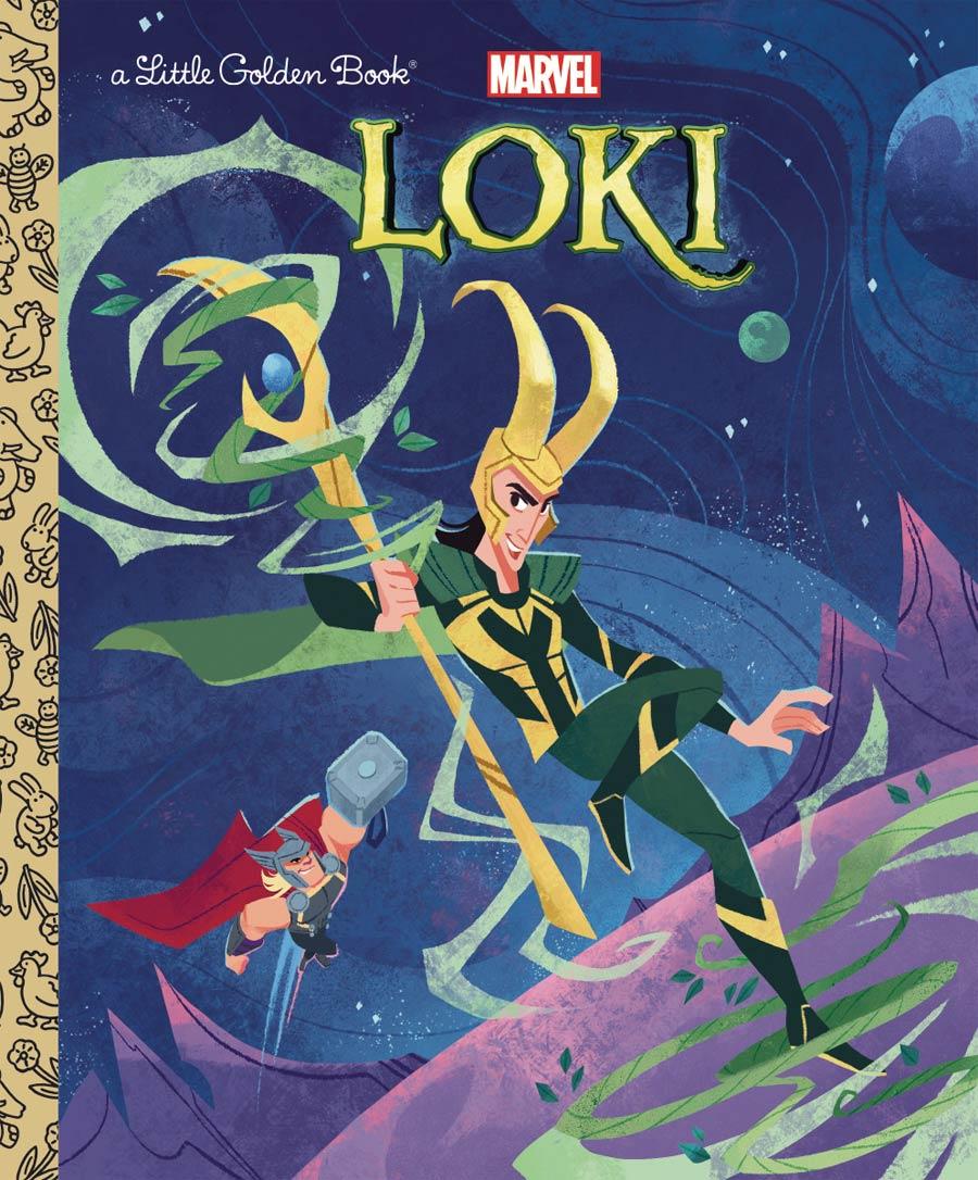 Loki Little Golden Book HC