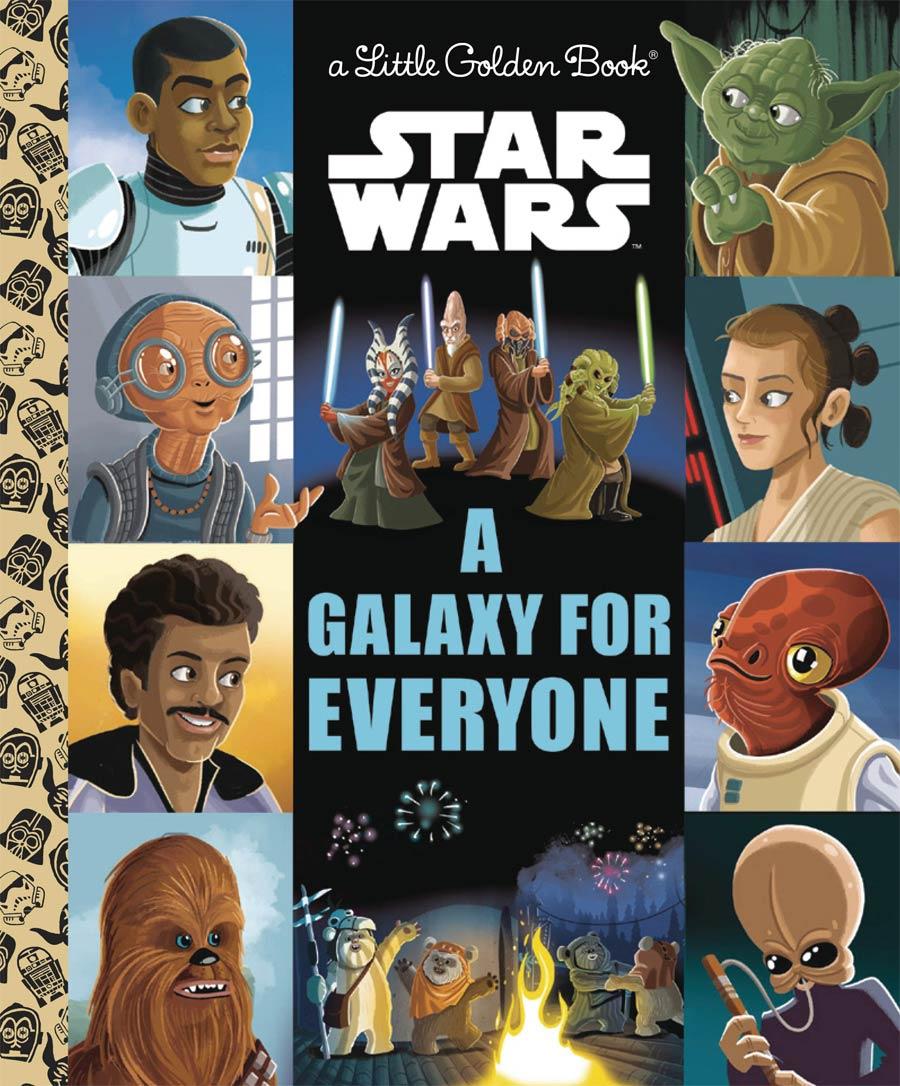 Star Wars A Galaxy For Everyone Little Golden Book