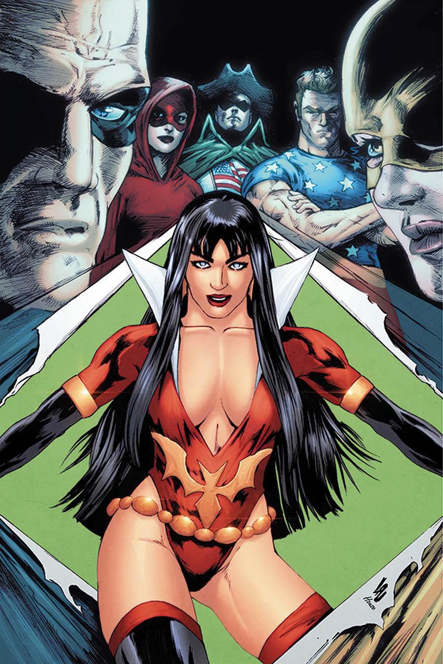 Vampirella The Dark Powers #2 Cover M Incentive Jonathan Lau Virgin Cover