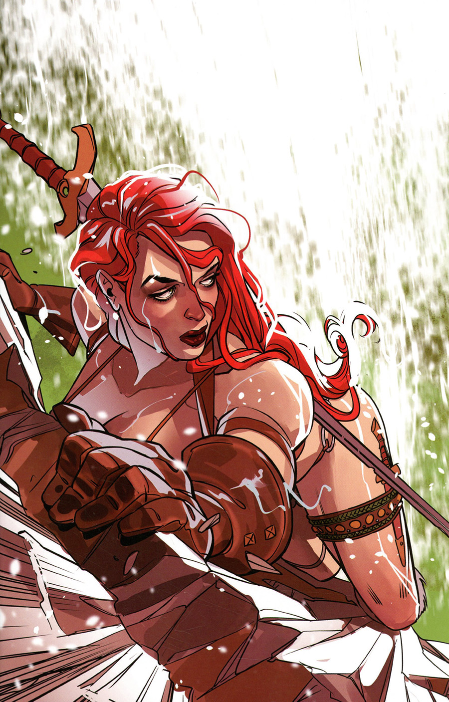 Red Sonja Vol 8 #23 Cover O Incentive Rachel Stott Virgin Cover