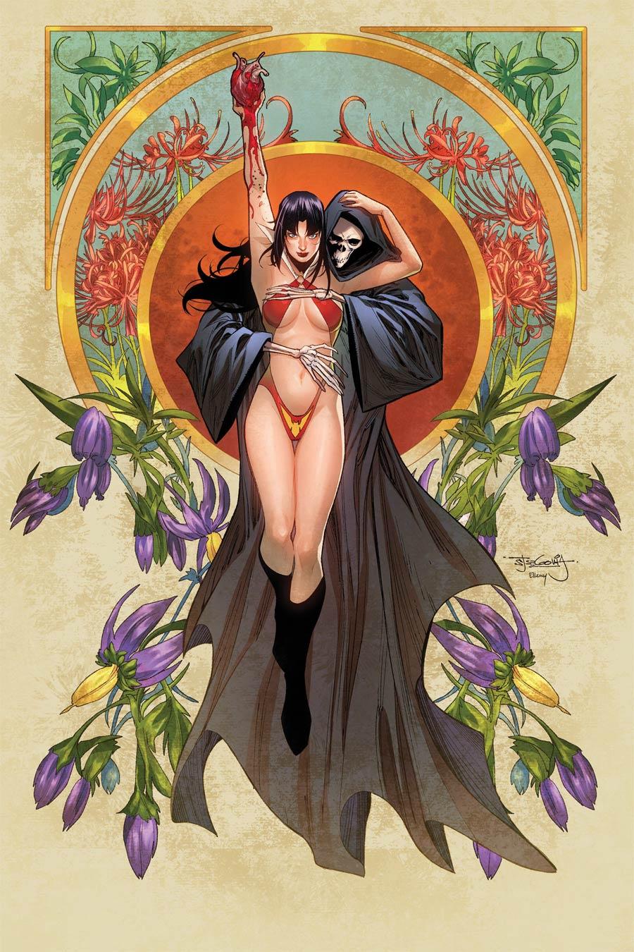 Vengeance Of Vampirella Vol 2 #14 Cover F Incentive Stephen Segovia Virgin Cover