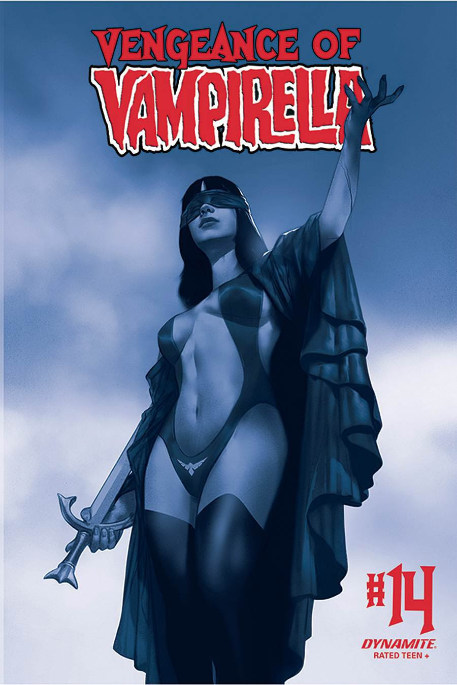 Vengeance Of Vampirella Vol 2 #14 Cover O Incentive Ben Oliver Tint Cover