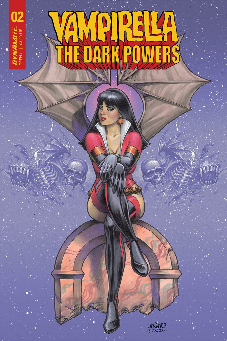 Vampirella The Dark Powers #2 Cover Z-D Variant Joseph Michael Linsner Cover CGC Graded
