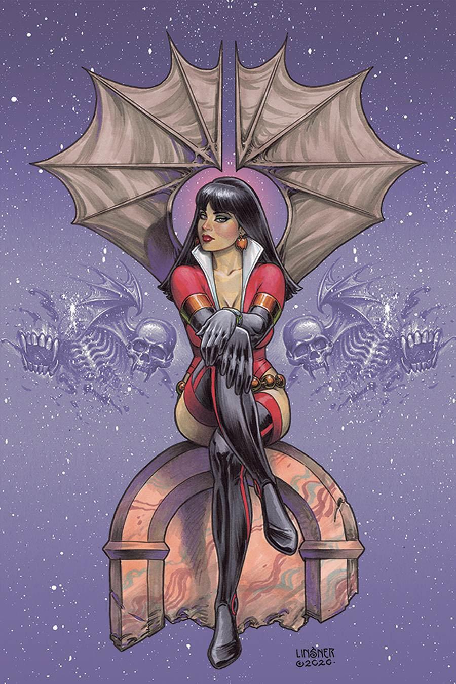 Vampirella The Dark Powers #2 Cover W Limited Edition Joseph Michael Linsner Virgin Cover