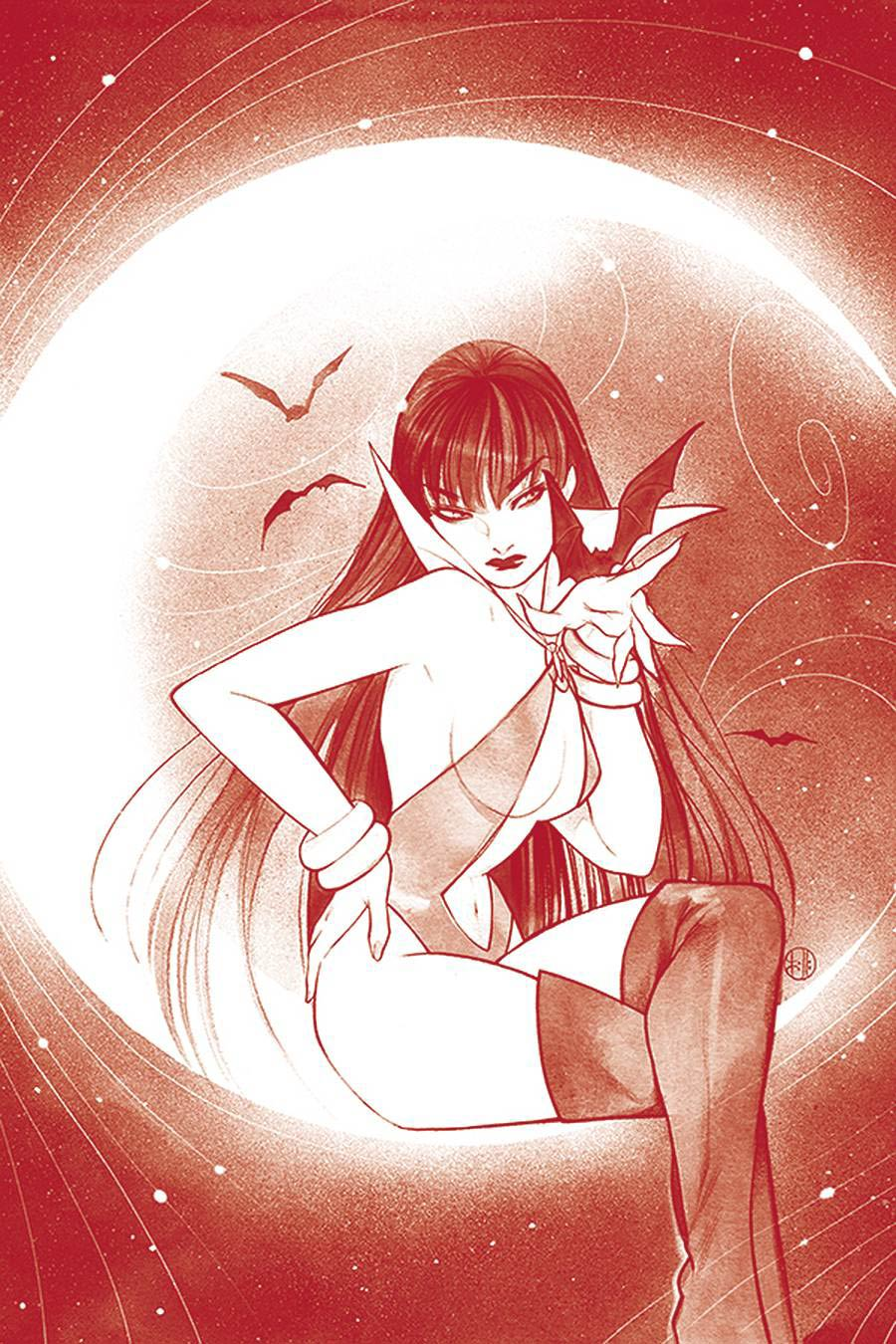 Vampirella Vol 8 #15 Cover Q Ultra-Premium Limited Edition Peach Momoko Blood Red Line Art Virgin Cover