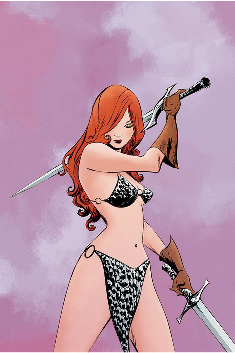 Red Sonja Vol 8 #23 Cover R Limited Edition Jae Lee Virgin Cover