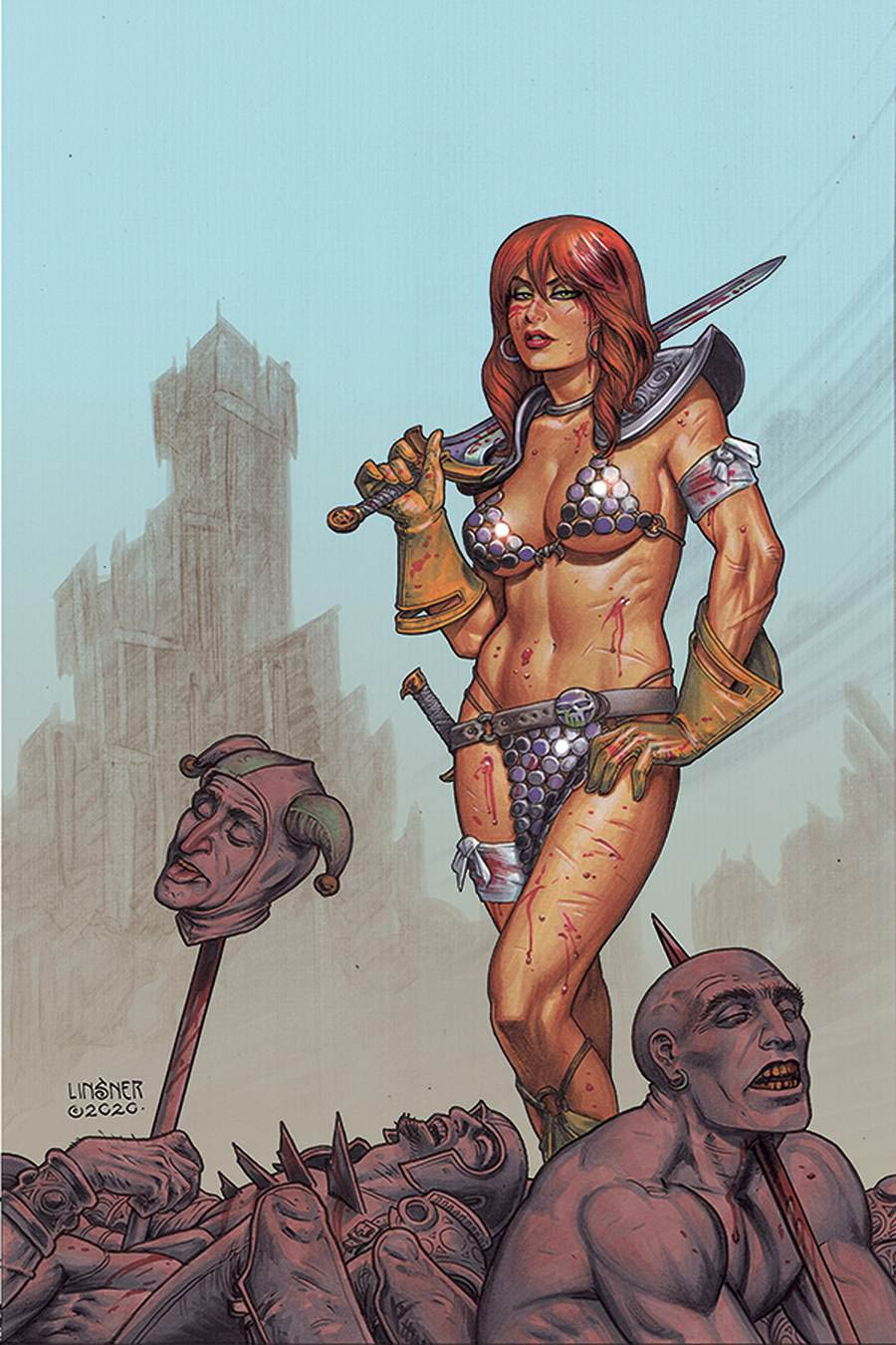 Red Sonja Vol 8 #23 Cover S Limited Edition Joseph Michael Linsner Virgin Cover