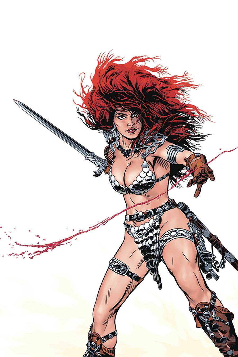 Red Sonja Price Of Blood #2 Cover O Limited Edition Michael Golden Virgin Cover