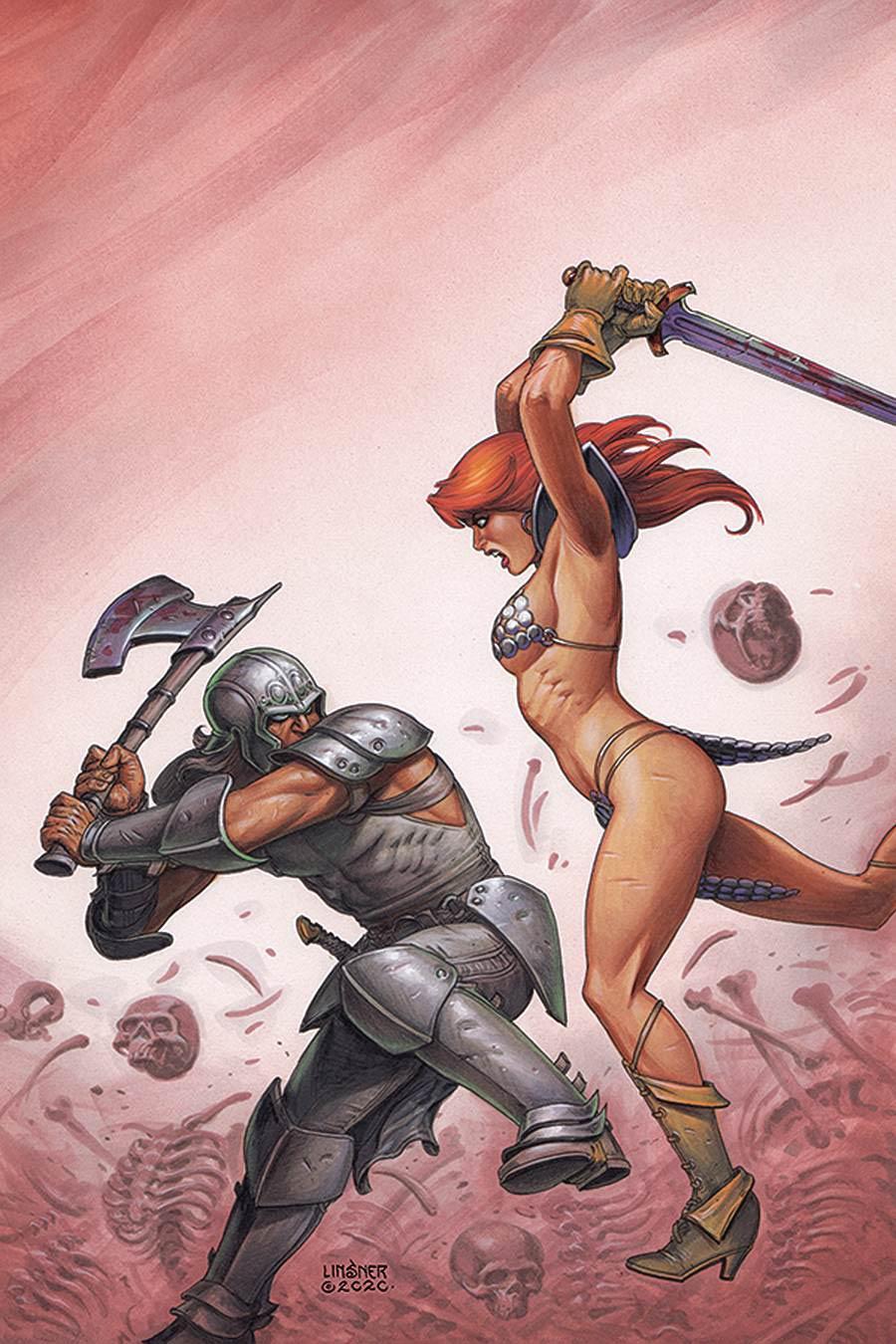 Red Sonja Price Of Blood #2 Cover P Limited Edition Joseph Michael Linsner Virgin Cover