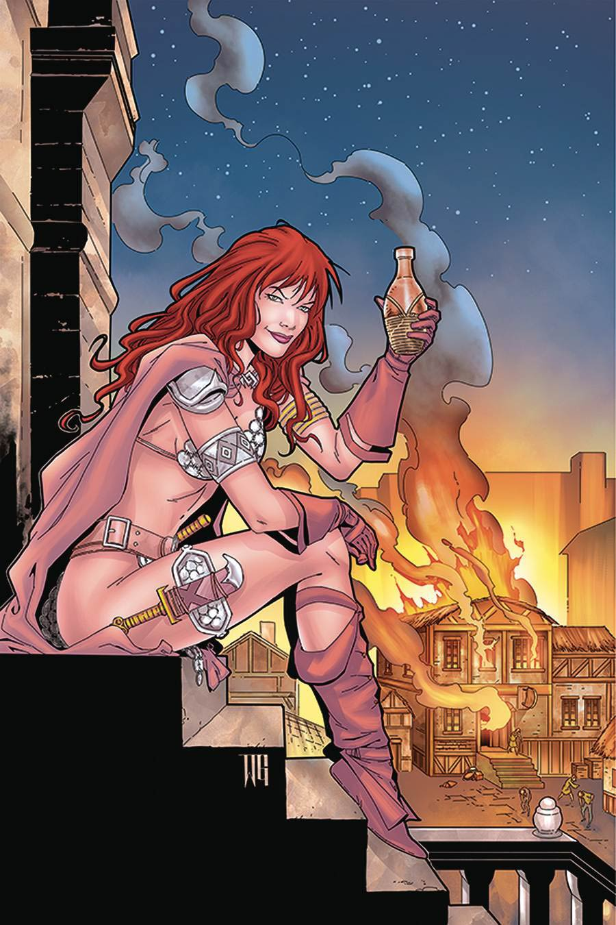 Red Sonja Price Of Blood #2 Cover Q Limited Edition Walter Geovani Virgin Cover