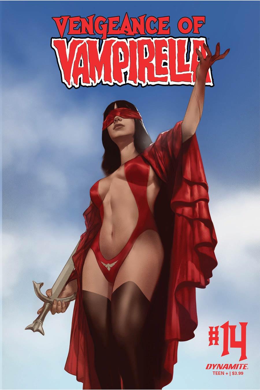 Vengeance Of Vampirella Vol 2 #14 Cover S Variant Ben Oliver Cover CGC Graded