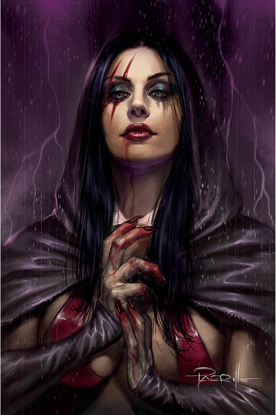 Vengeance Of Vampirella Vol 2 #14 Cover P Limited Edition Lucio Parrillo Virgin Cover