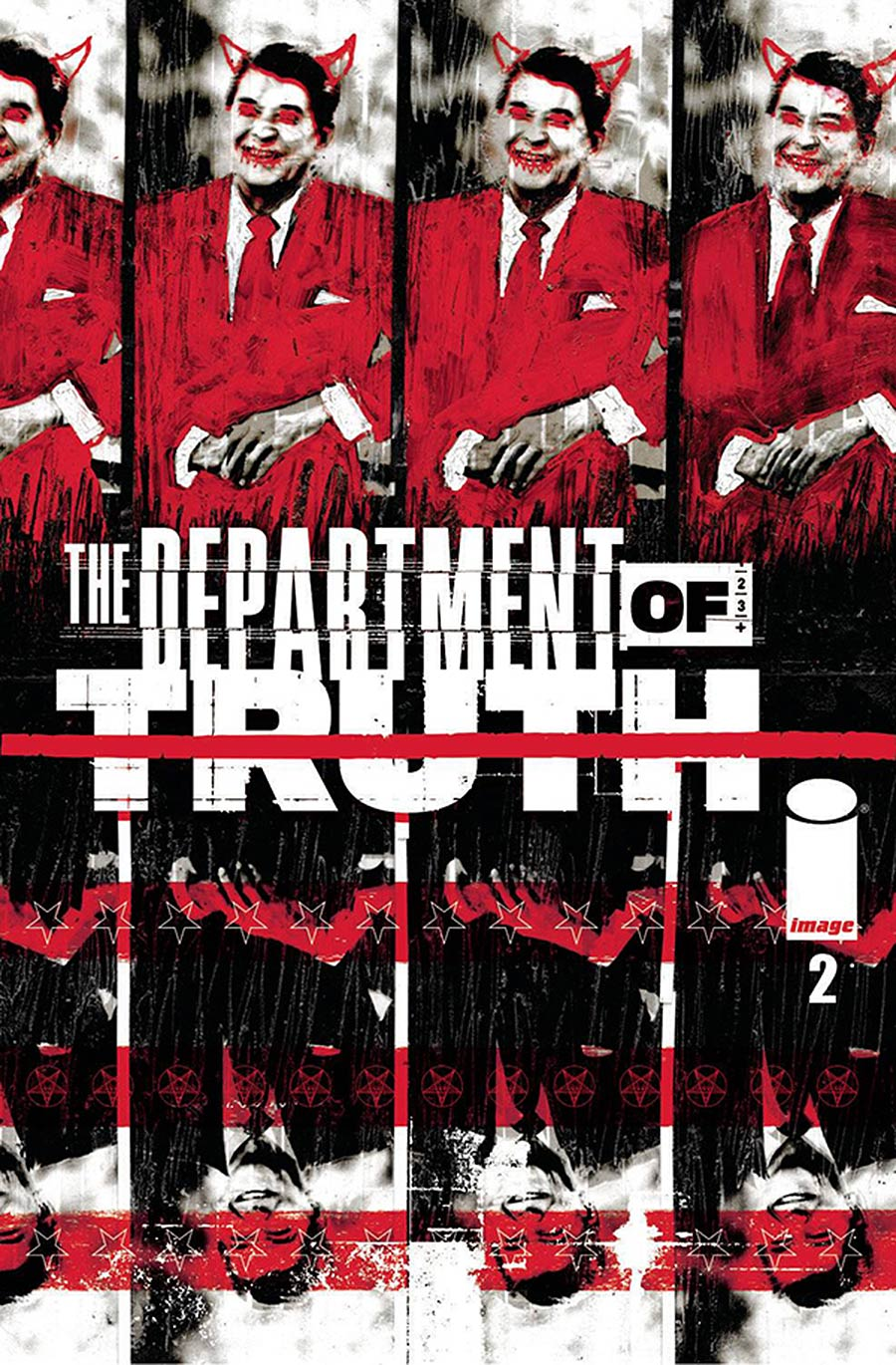 Department Of Truth #2 Cover F DF Martin Simmonds Signed By James Tynion IV