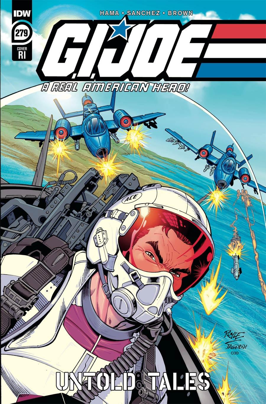 GI Joe A Real American Hero #279 Cover C Incentive John Royle Variant Cover