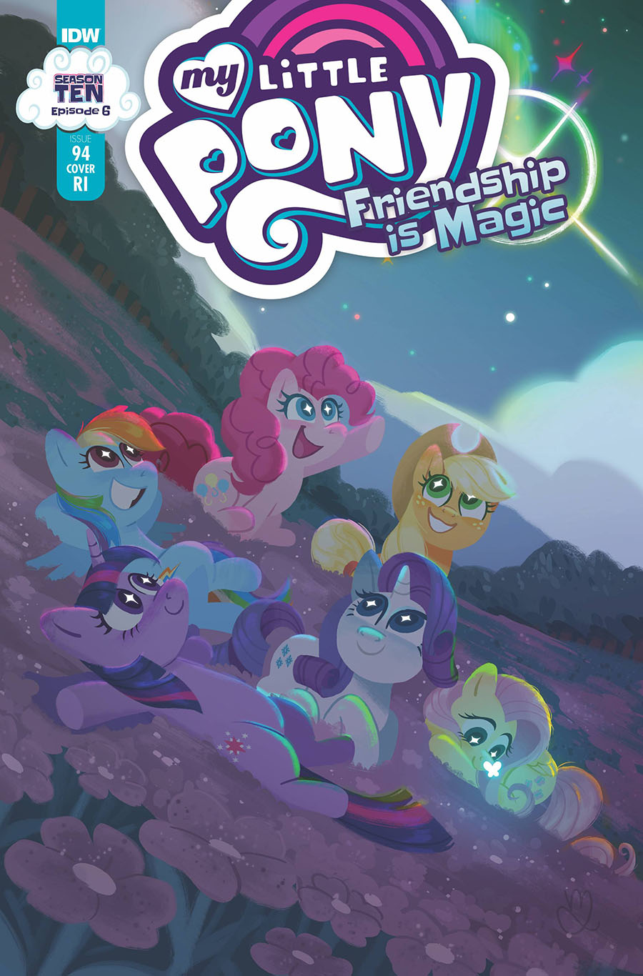 My Little Pony Friendship Is Magic #94 Cover C Incentive Muffy Levy Variant Cover